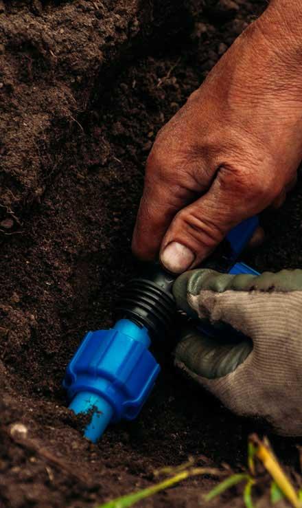 Perfectly Edged Lawncare LLC Irrigation Installation